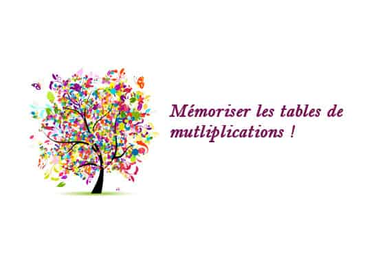 Memoriser les tables de multiplication 28 images 3 for Apprendre ses tables de multiplication en jouant